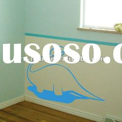 Cute Dinosaur - Nursery Vinyl Wall Decals, Kids Wall Stickers