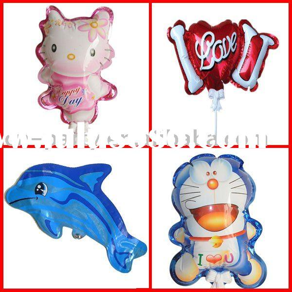 DIA 14.5 five star Valentine's Day auto inflatable balloon