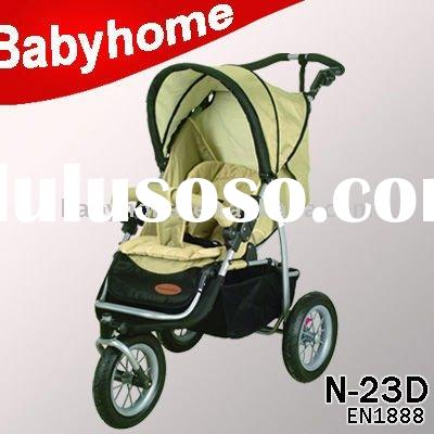 EN1888 CE approved European and Australia standard baby jogger pram