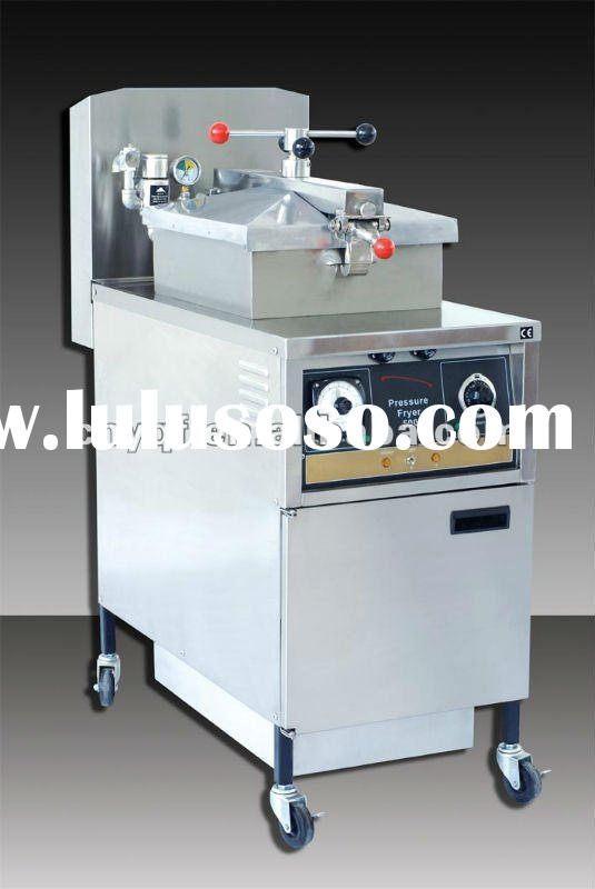 Electric/Gas Pressure Fryer with oil pump