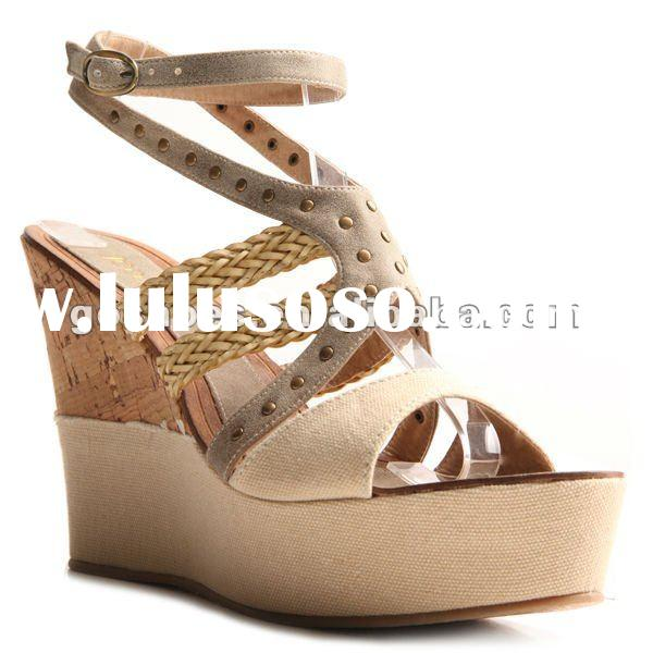 Fashion Wedge Shoes Ladies Sandals 2012 Women Sandals