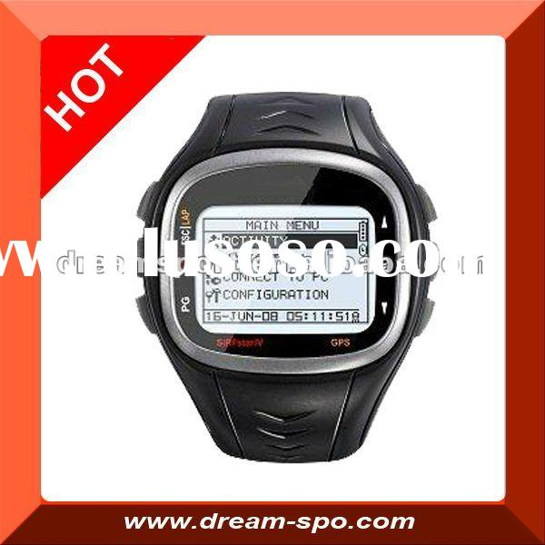 GPS watch with heart rate/GPS running watch/gps watch sport(DG-6P)