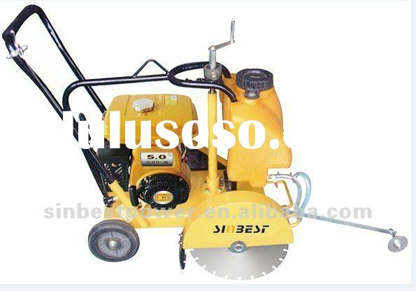 Gasoline Concrete Saw Concrete Cutter 5HP Walk Behind Concrete Cutter