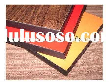 Glossy and Matt Formica High Pressure phenolic resin Laminate board/compact wood grain HPL board/wal