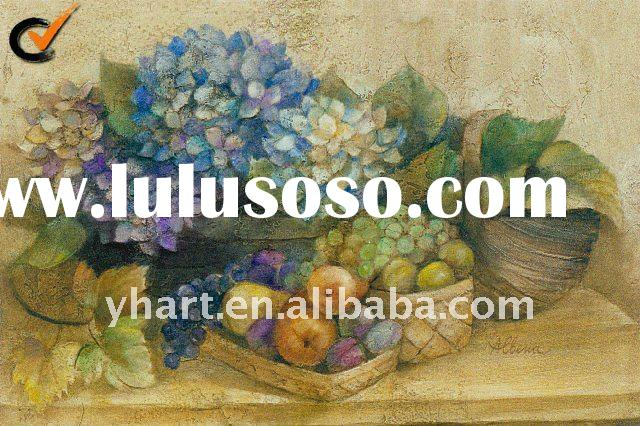 Handmade Modern Decorative Oil Painting Pictures Of Fruits