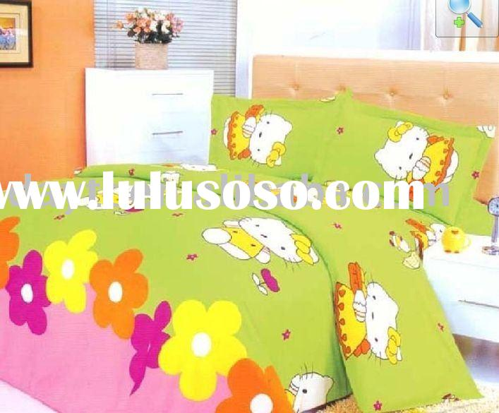 Hello Kitty Kids Bedding Set D066 on sale wholesale & drop shipping