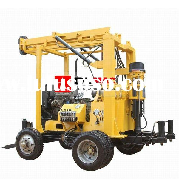 ISO9001:2008 certified water drilling machine for sale