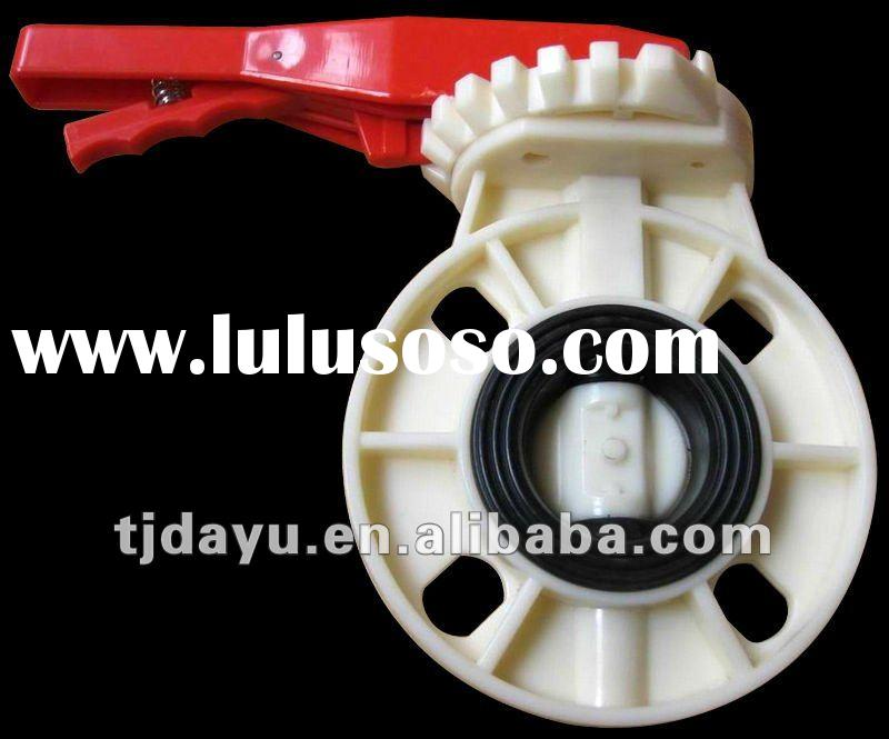 ISO DIN ABS handle butterfly valve High performance Manufacturer