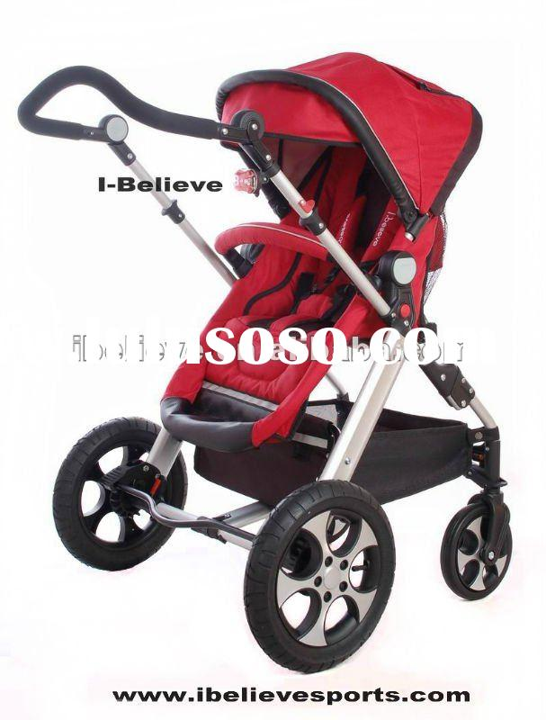 I-S021 European Standard Hot Design Air-input Wheels (Stroller Baby Carry Cot) Baby Jogger City Sele