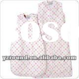 Lovely Grid pattern baby sleeping bag