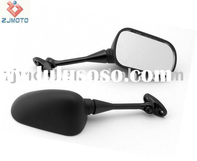 MOTORCYCLE MIRRORS Racing Mirrors for 2003-2008 HONDA CBR 600RR/1000 RR Jet Black