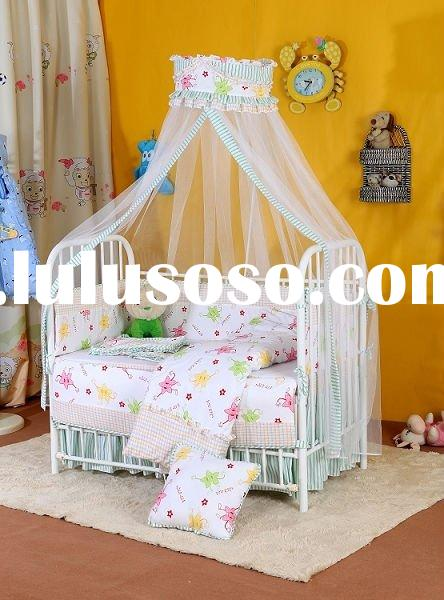 Metal crib,Cotton baby bed,mosquito net baby bed DC-2010