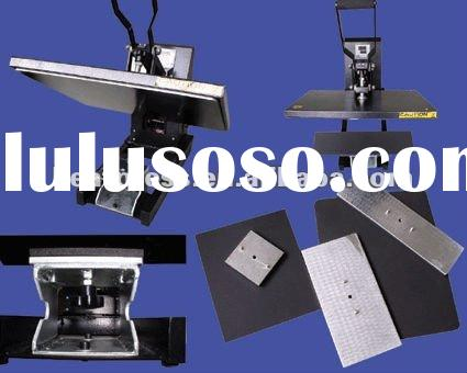 NEW 16x20 T-shirt Printing Machine with 5 different Size Plates! for Heat Transfer