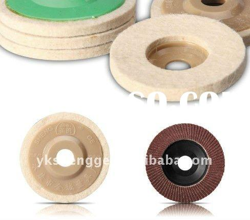 Non-woven Fabric Abrasive Wheel Wool Felt Buffing Wheel