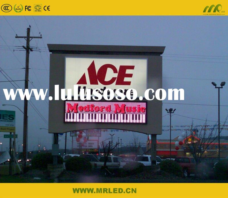 P16 outdoor digital led billboard advertising display signs