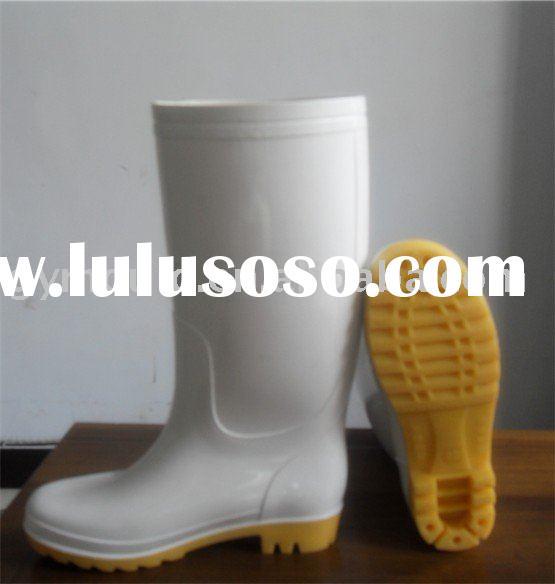 PVC Safety Wellington Boots ,Firefighter Boot,Food Industry Boot
