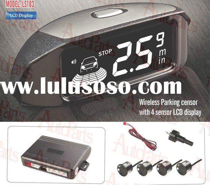 Parking sensor with 4 sensors LCD display