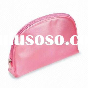 Pink Dice Vanity Makeup cosmetic Beauty Case with zipper