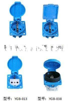 Schuko/Germany/European waterproof outlet socket