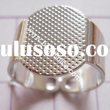 Silver Plated Brass Adjustable Ring Base,inside diameter 17mm,meter base ring,adjustable ring base b