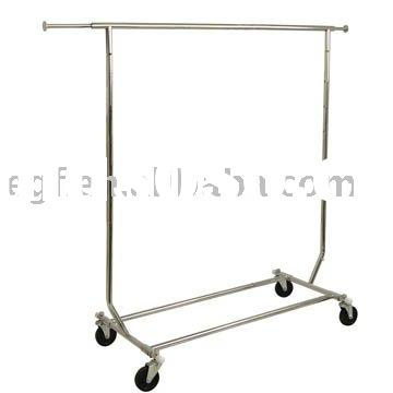 Single Bar Hanging Clothes Rack / Clothes Hanger Rack