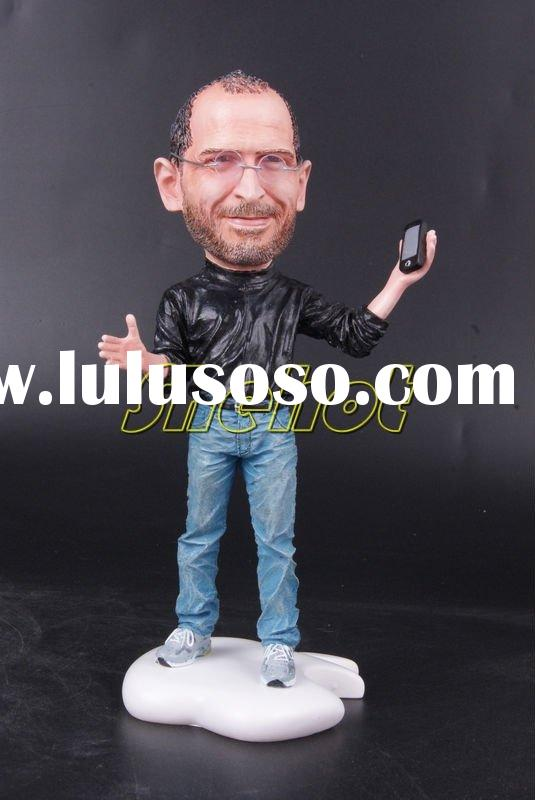 The Great Man Steve Paul Jobs Poly-Resin Statue/Custom Action Figure /Apple CEO(Pre-painted /GK)