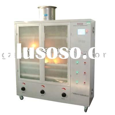 Thermal protection ballast heating test chamber