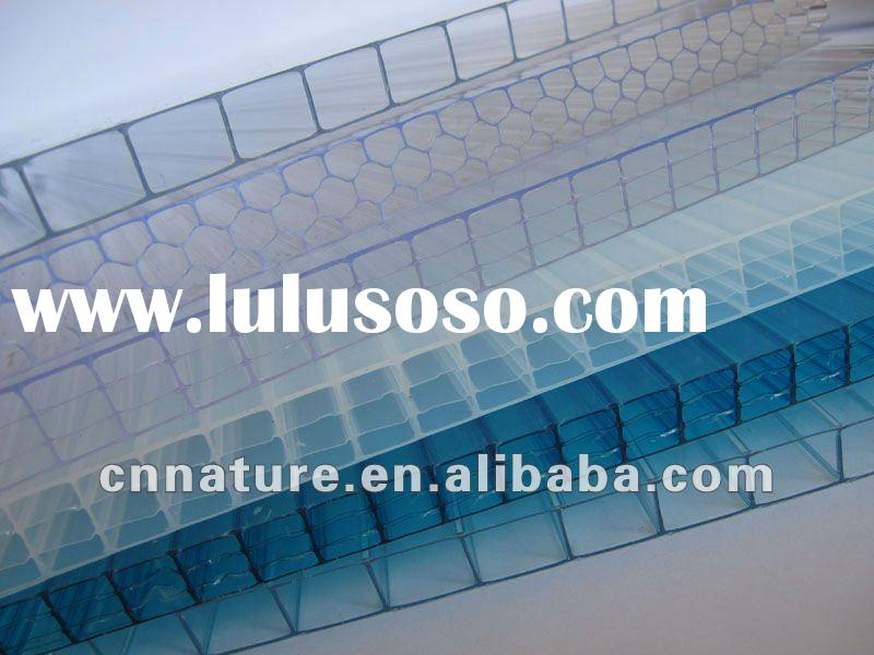 Twin-Wall Polycarbonate Hollow Sheet for roofing
