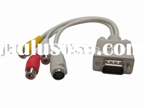 VGA Cable, to Connect Monitor to PC Video Card, OEM Colors Available