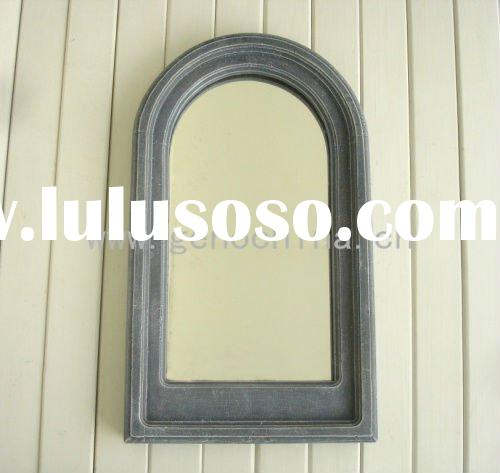 Wall Mirror with antique wood-like frame