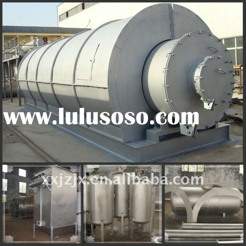Waste Plastic & tyre Pyrolysis Plant Waste Treatment