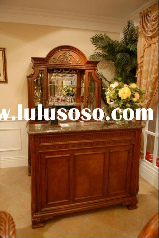 Wood bar furniture/antique bar furniture/bar set WHT-JBT-503