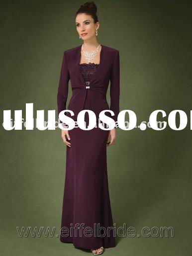 XL-09280 sell wedding dress, evening dress,dark purple evening gown,formal evening dress,Bridal Wedd