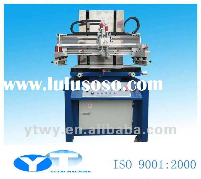 YT- 6090 high precision vertical flat semi-automatic screen printing machinery