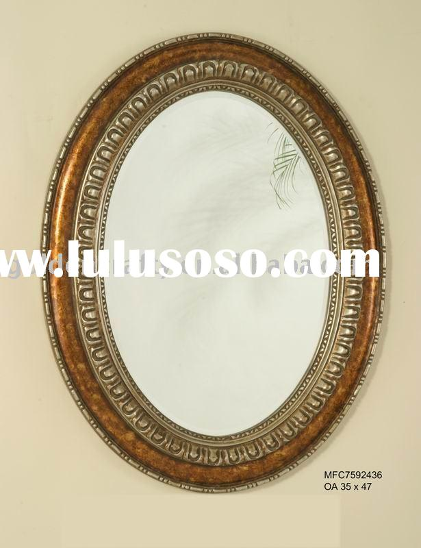 antique oval wall mirror frame,wall decor