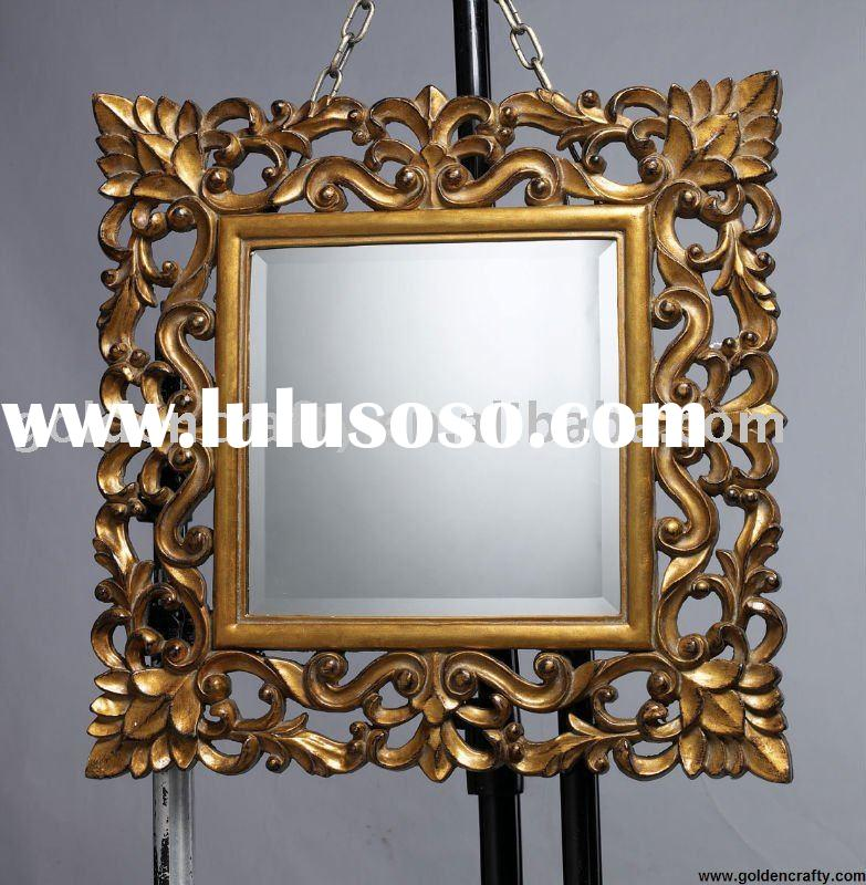 antique wall mirror frame