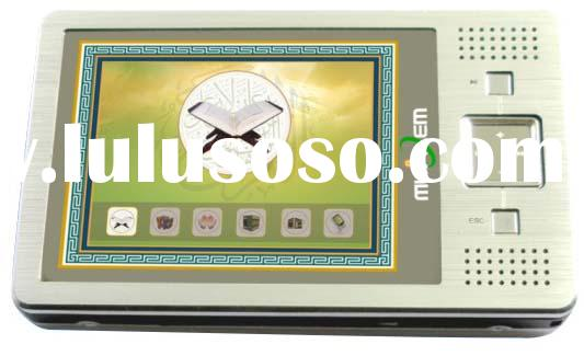 auto compass digital quran mp4 player mu630, muslim, islamic , azan, quran tajweed