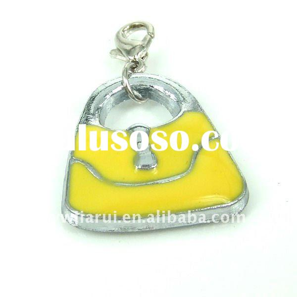 bag shape wholesale metal charms