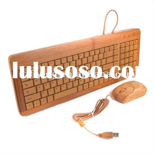 bamboo mouse and keyboard combo