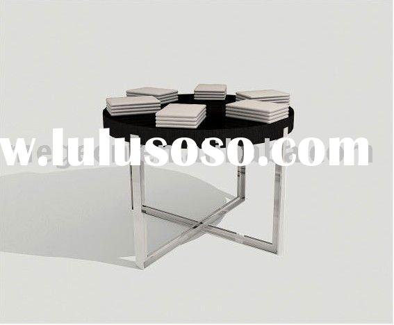 brochure round display table
