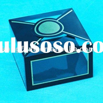clear acetate plastic watch pet packaging box