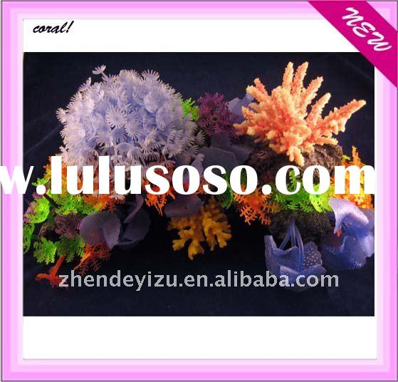colorful aquarium artificial coral craft