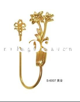 curtain hooks/gold curtain accessories(S-6007)