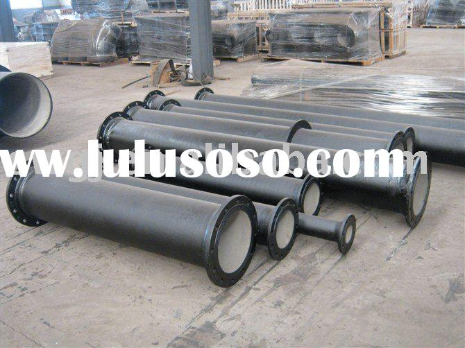 double flange ductile cast iron pipe fitting