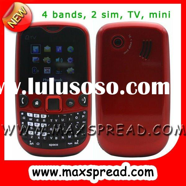 dual sim mobile phone with qwerty keyboard mini Q