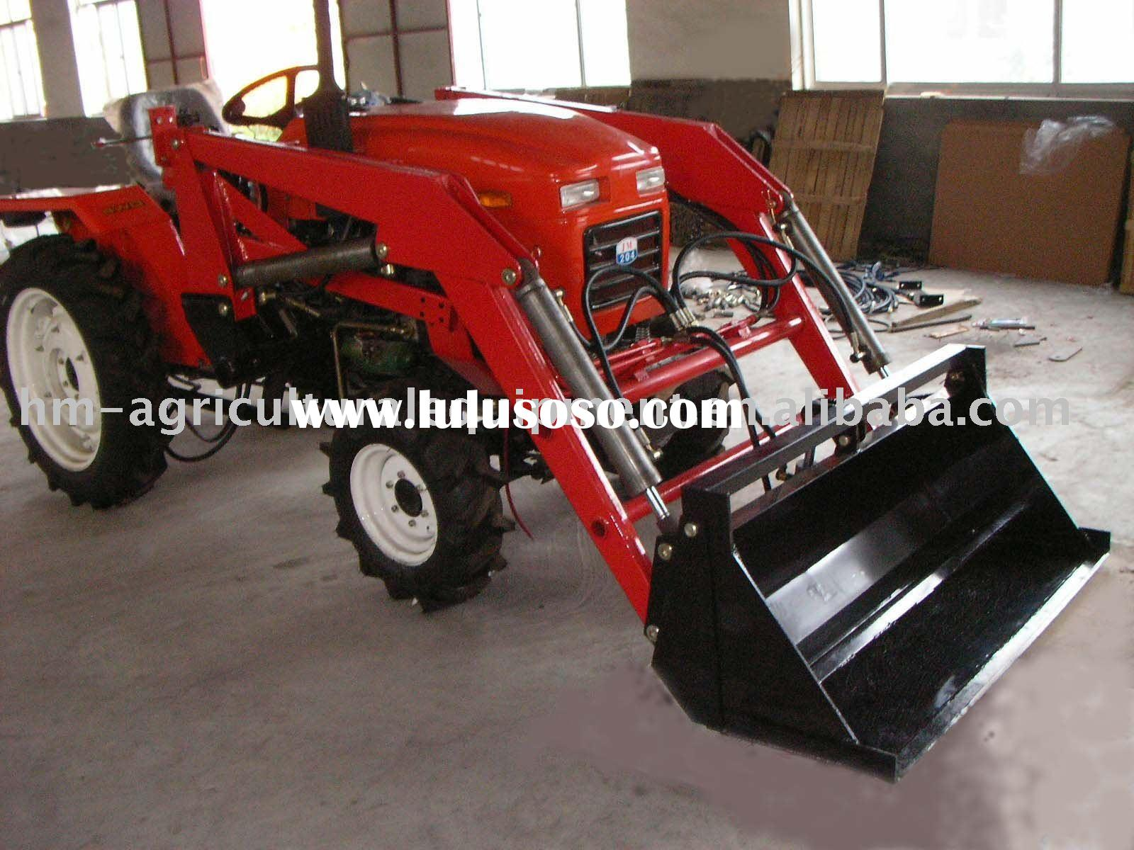 front end loader for farm tractor