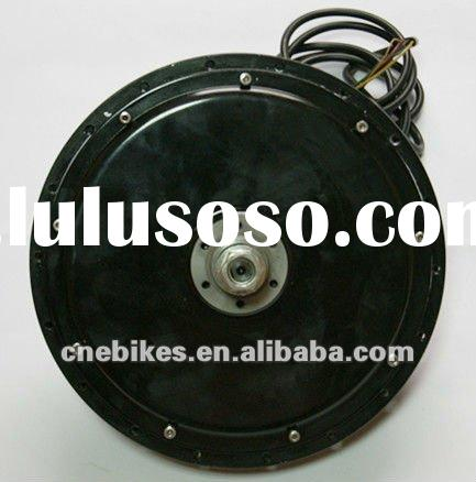 front/rear brushless gearless hub motor/electric bicycle e-bike motor 500w