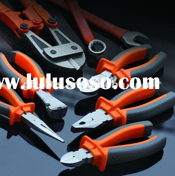 hand tools, combination pliers, linesman pliers, side cutting pliers, diagonal cutting pliers, long