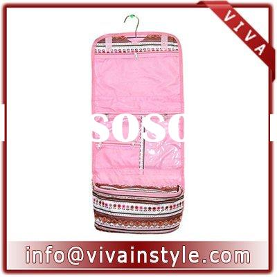 hanging cosmetic bag