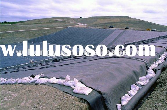 hdpe geomembrane sheet for dam lining/pond liner